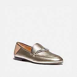 HELENA LOAFER - PLATINUM CHAMPAGNE - COACH G4749
