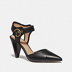 WREN PUMP - BLACK/BLACK - COACH G4784