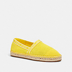 CORRIE ESPADRILLE - YELLOW - COACH G4838