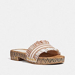 BRAYDEN SANDAL - PALE BLUSH/CHALK - COACH G4926