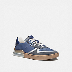 CITYSOLE COURT SNEAKER IN COLORBLOCK - BLUE MIST GREY - COACH G5014