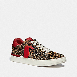 LOWLINE LUXE LOW TOP SNEAKER - NATURAL/JASPER - COACH G5042