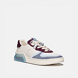 CITYSOLE COURT SNEAKER - CHALK/BOYSENBERRY - COACH G5045