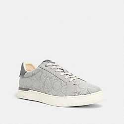 CLIP LOW TOP SNEAKER - WASHED STEEL - COACH G5111