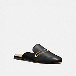 SAWYER SLIDE LOAFER - BLACK - COACH G5165