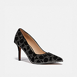 WAVERLY PUMP - BLACK - COACH G5228