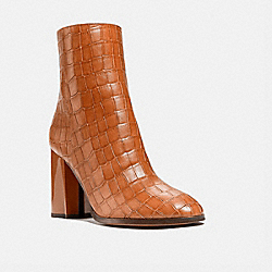 BRIELLE BOOTIE - BURNISHED AMBER - COACH G5475