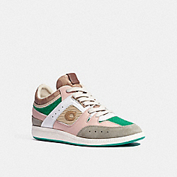 CITYSOLE MID TOP SNEAKER - BLUSH PINK/TAN - COACH G5557