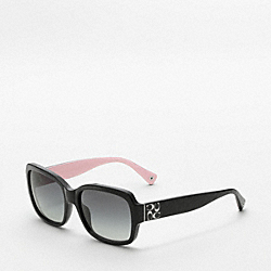 COACH EMMA SUNGLASSES - BLACK - L001