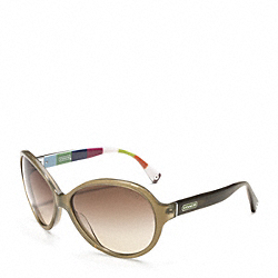 COACH ALICIA SUNGLASSES - OLIVE - L010