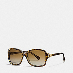 FRANCES SUNGLASSES - TORTOISE/CRYSTAL - COACH L020