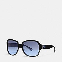BRIDGET SUNGLASSES - BLACK/BLUE - COACH L037