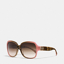 COACH BRIDGET SUNGLASSES - PINK - L037