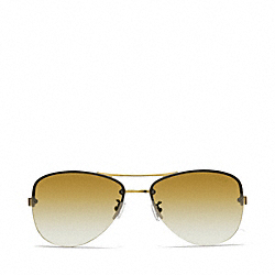 COACH JASMINE SUNGLASSES - GOLD - L056