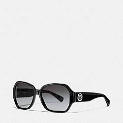 MELISSA SUNGLASSES - BLACK - COACH L058