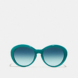 LINDSAY SUNGLASSES - TEAL - COACH L068