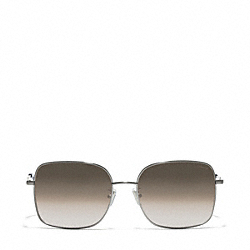 COACH MILLIE SUNGLASSES - SILVER - L075
