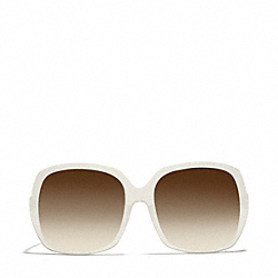 COACH BLAKE SUNGLASSES - WHITE - L076