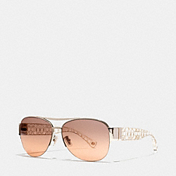 COACH ADDISON SUNGLASSES - D4Z - L079