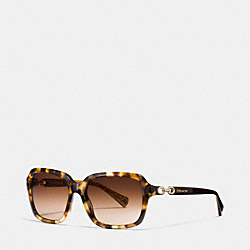 ASHLEY SUNGLASSES - SPOTTY TORTOISE - COACH L081