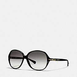 COACH BAILEY SUNGLASSES - BLACK - L089
