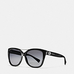 COACH COBY SUNGLASSES - BLACK - L097