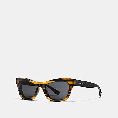 VARSITY閃亮條紋貓眼太陽眼鏡