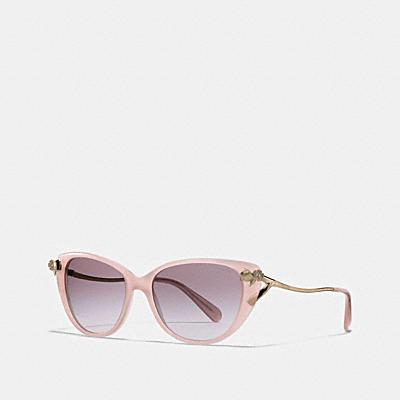 亞洲臉型茶香玫瑰太陽眼鏡