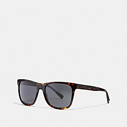 COACH LEROY SUNGLASSES - DARK TORTOISE - L1035
