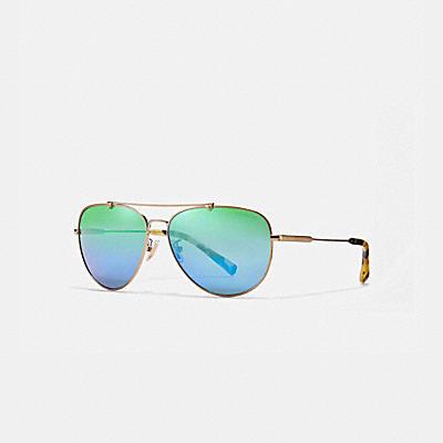 粗框飛行太陽眼鏡