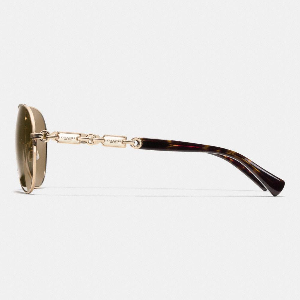 Hangtag Chain Sunglasses - Alternate View L2