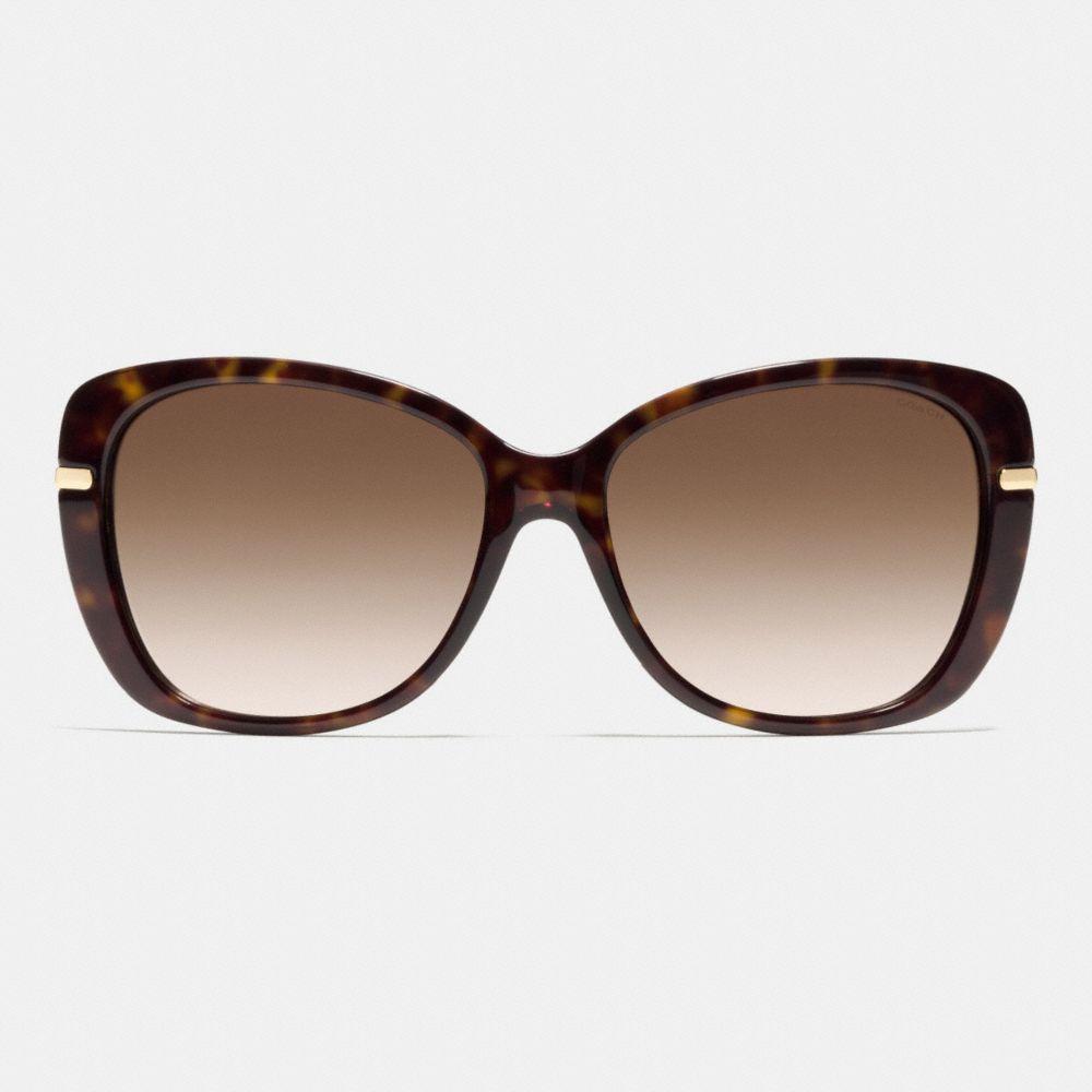 Hangtag Chain Cat-Eye Sunglasses - Alternate View L1