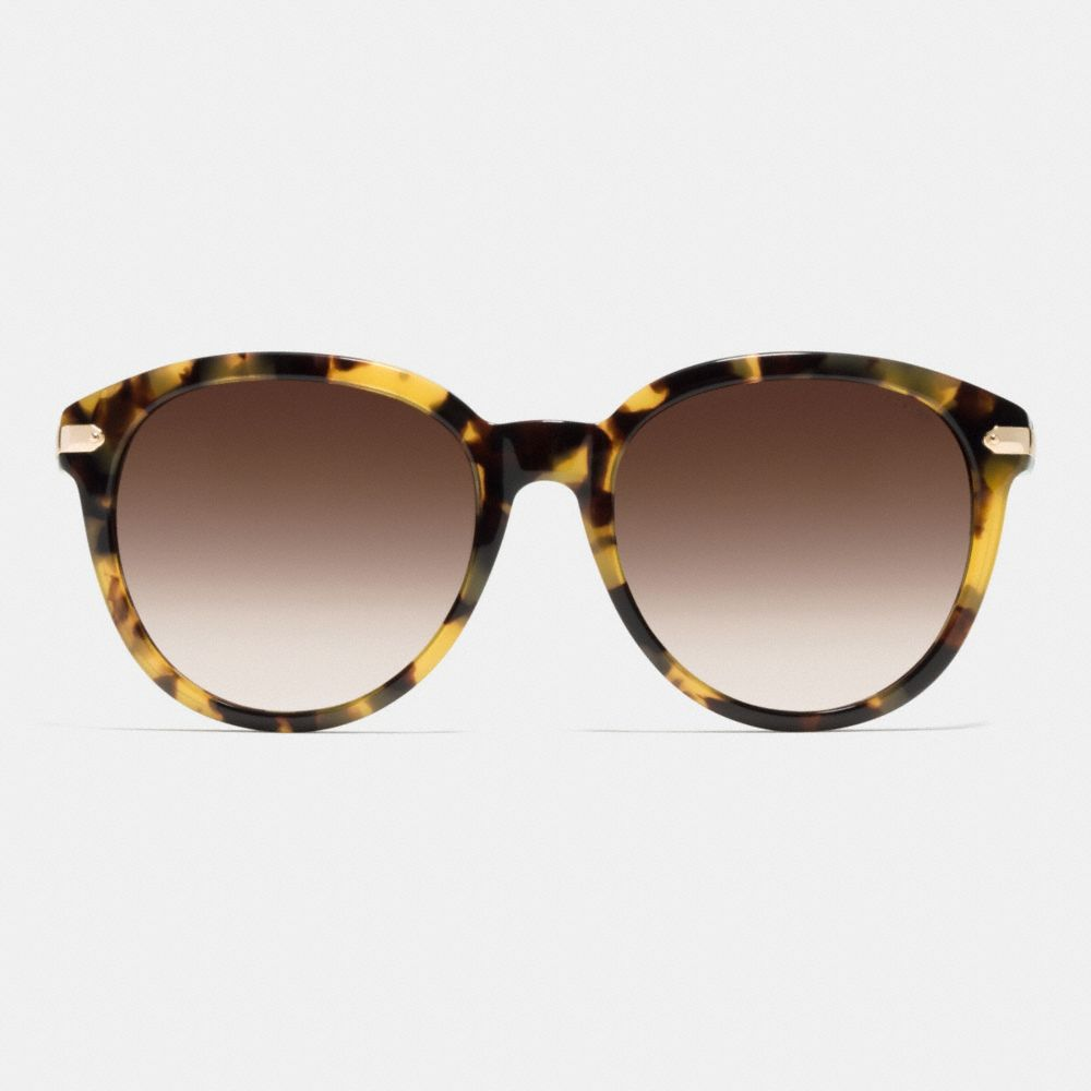 Tag Temple Round Sunglasses - Alternate View L1