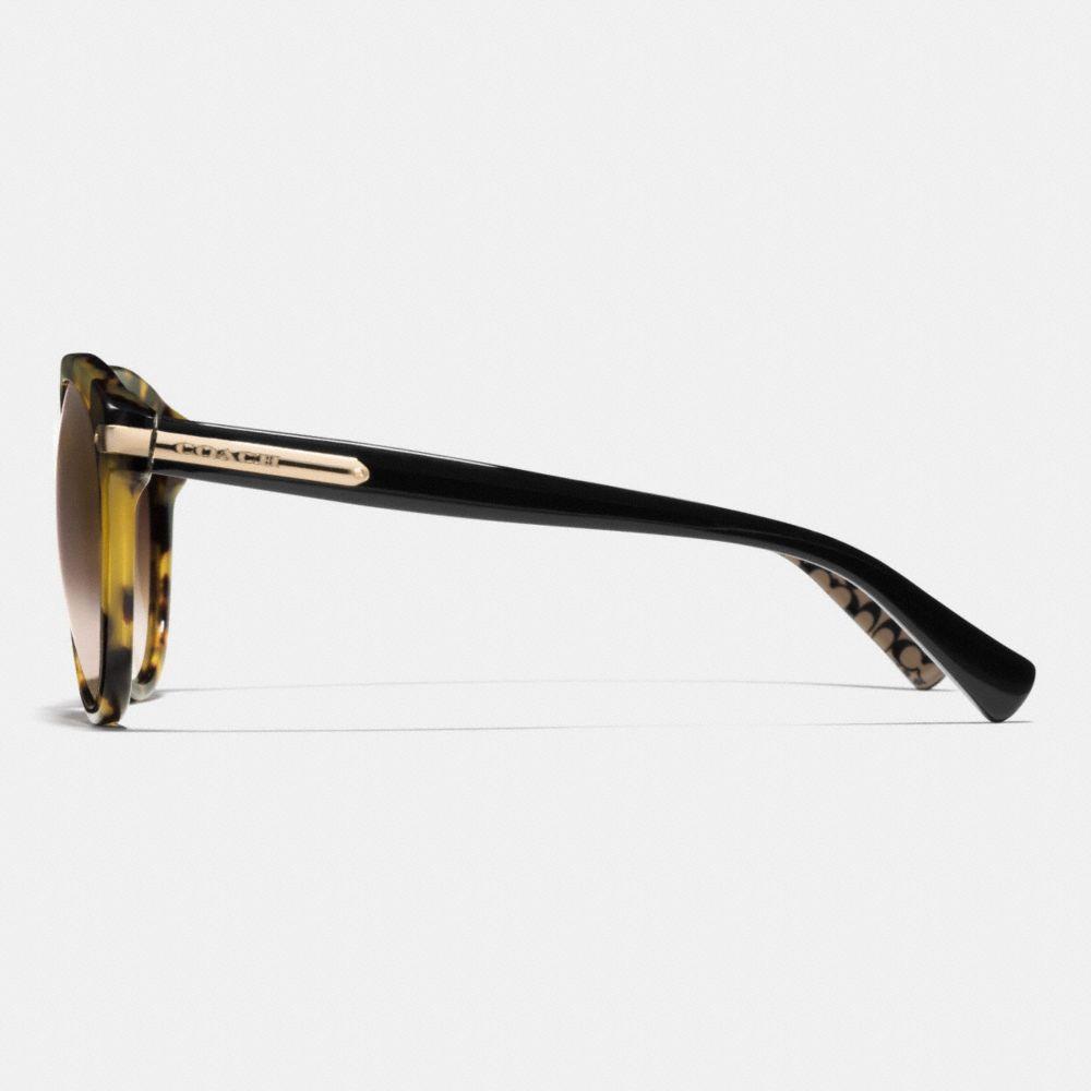Tag Temple Round Sunglasses - Alternate View L2