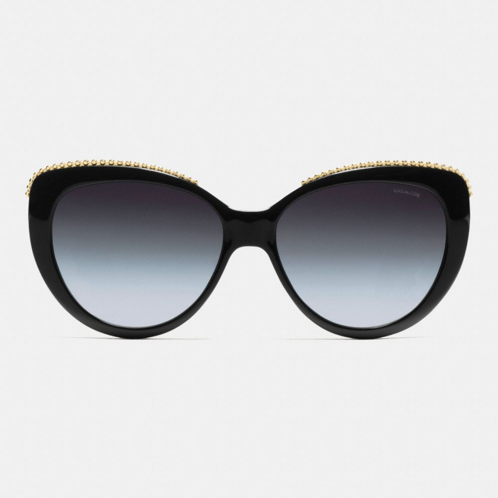 BEADCHAIN CAT EYE SUNGLASSES - Alternate View