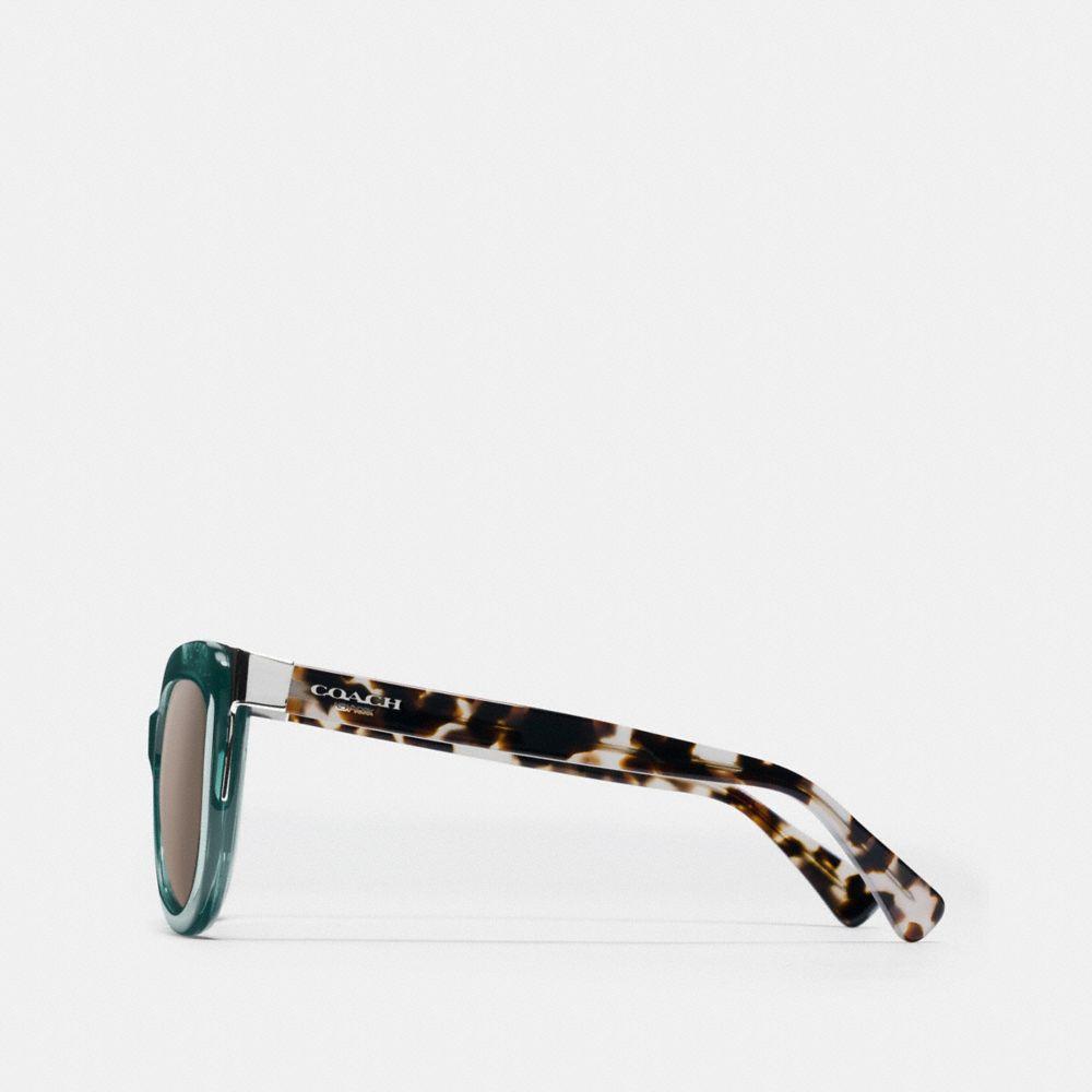 Coach Signature Square Sunglasses Alternate View 2