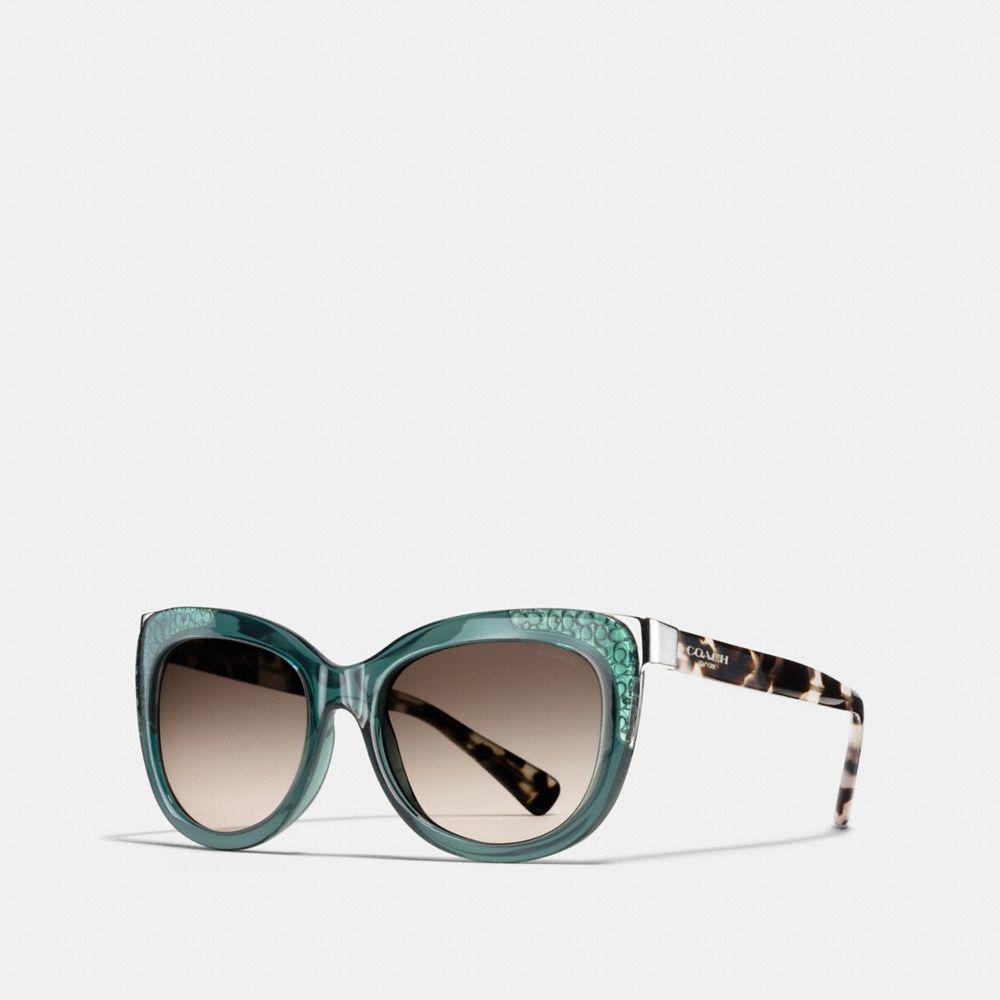 Coach Signature Square Sunglasses
