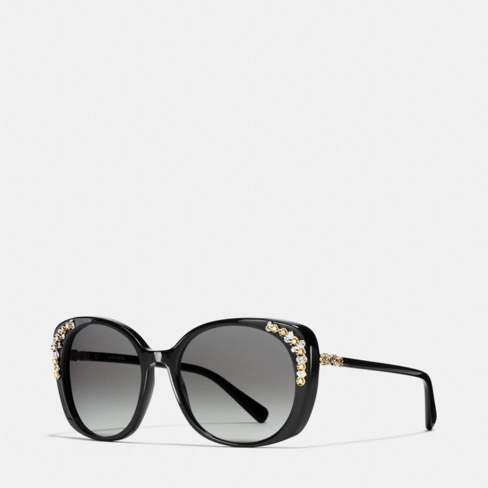 Daisy Rivet Cat Eye Sunglasses