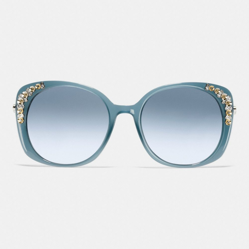 Daisy Rivet Cat Eye Sunglasses - Alternate View L1