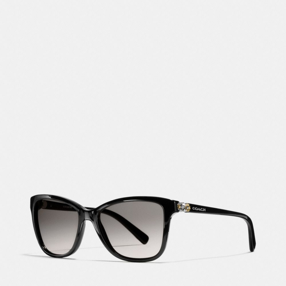 DAISY RIVET RECTANGLE SUNGLASSES