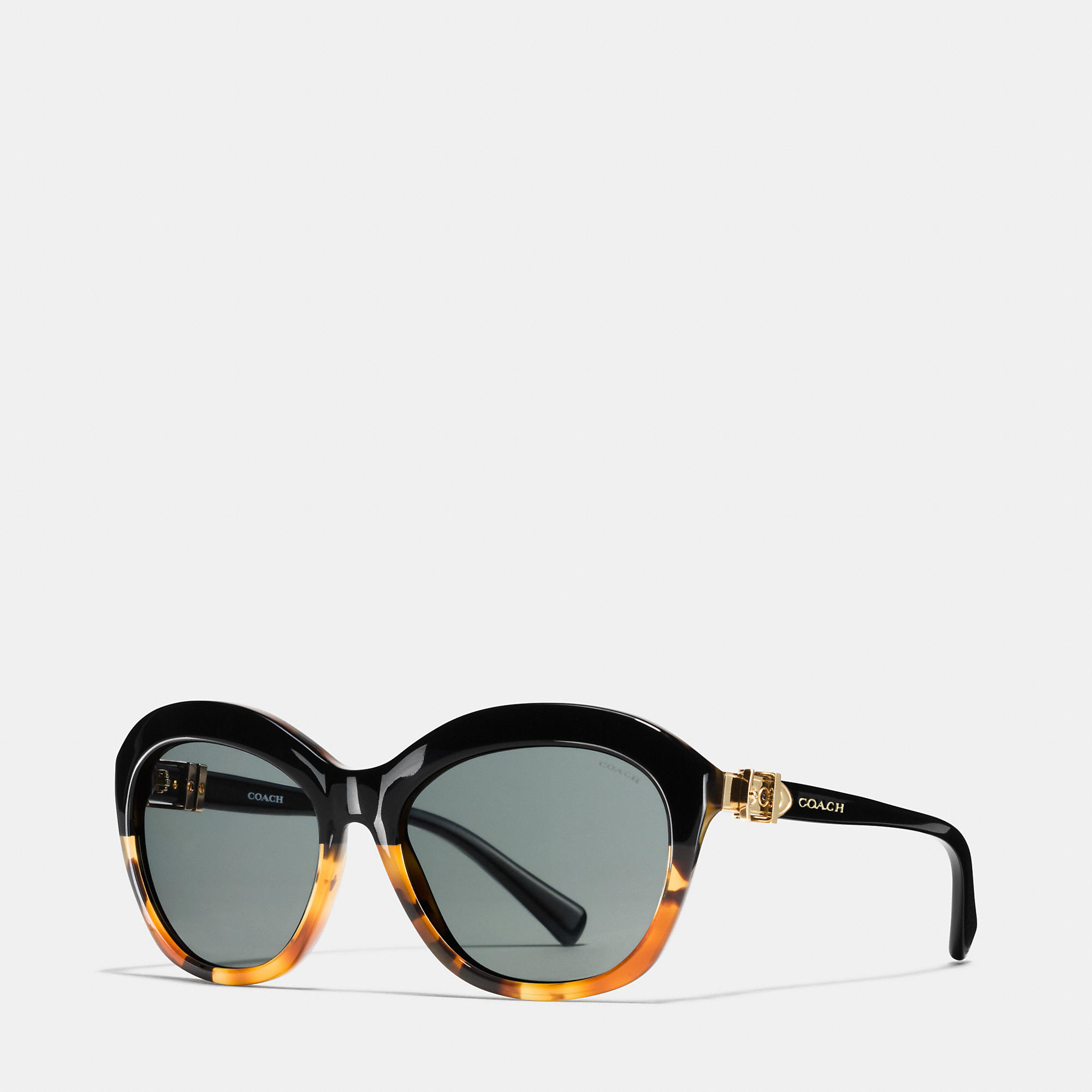 Coach Buckle Cat Eye Sunglasses
