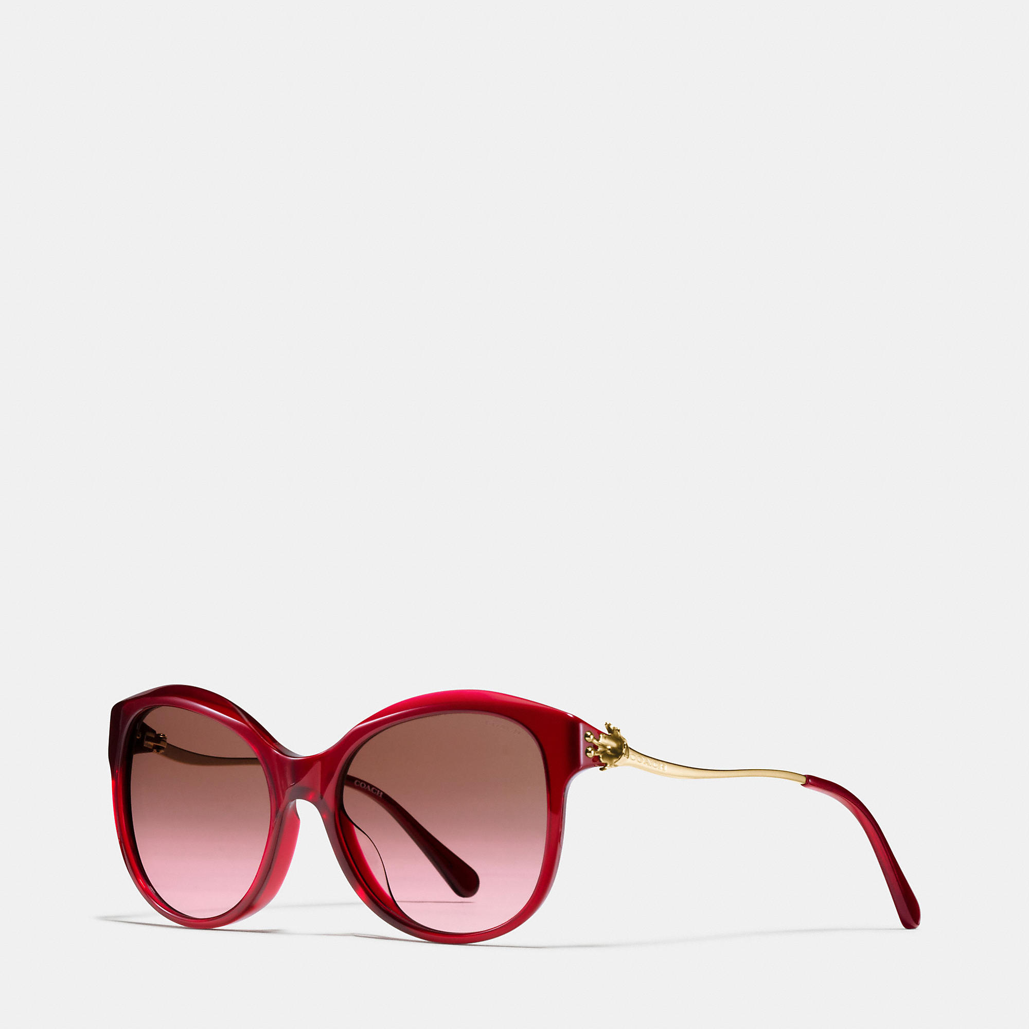 Coach Tea Rose Cat Eye Sunglasses