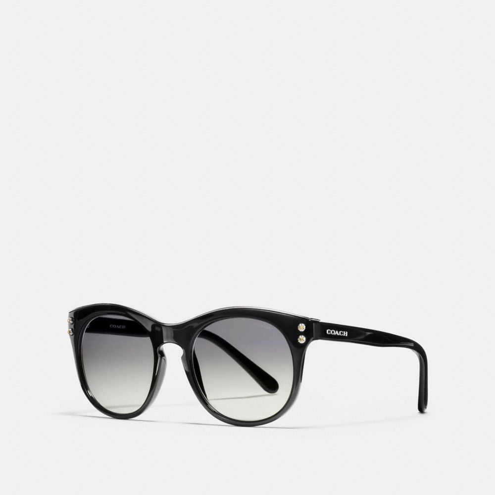 COACH NEW YORK ROUND SUNGLASSES - Alternate View