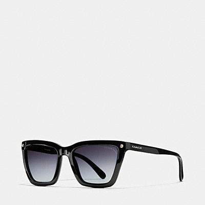 COACH NEW YORK SQUARE ASIAN FIT SUNGLASSES