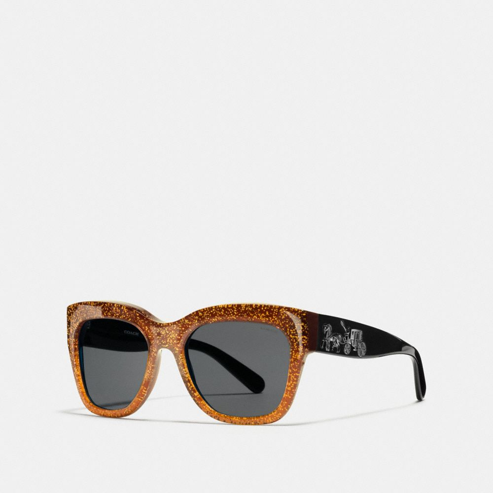 Coach Horse and Carriage Square Sunglasses
