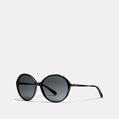 HORSE AND CARRIAGE ROUND ASIAN FIT SUNGLASSES