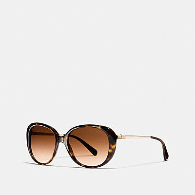 HORSE AND CARRIAGE OVAL ASIAN FIT SUNGLASSES