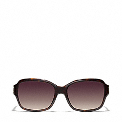 ELLA SUNGLASSES - DARK TORTOISE - COACH L511