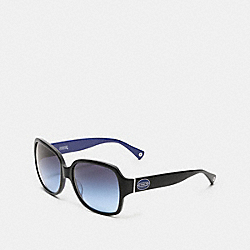 BRIDGET SUNGLASSS - BLACK/BLUE - COACH L529
