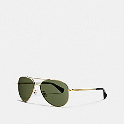 COACH MERCER SUNGLASSES - GOLD - L806